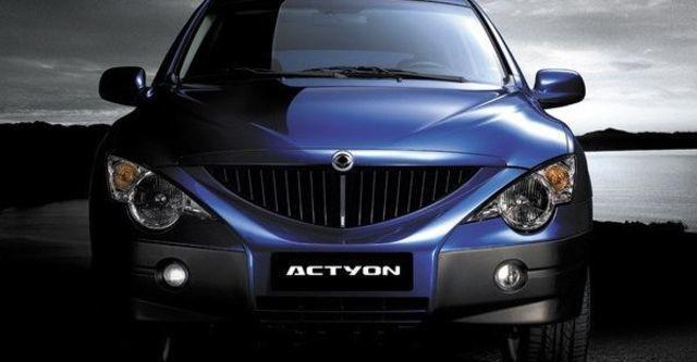 2008 Ssangyong Actyon A200 XDi 2WD  第4張相片