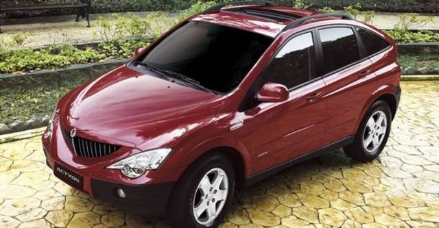 2008 Ssangyong Actyon A200 XDi 4WD  第1張相片