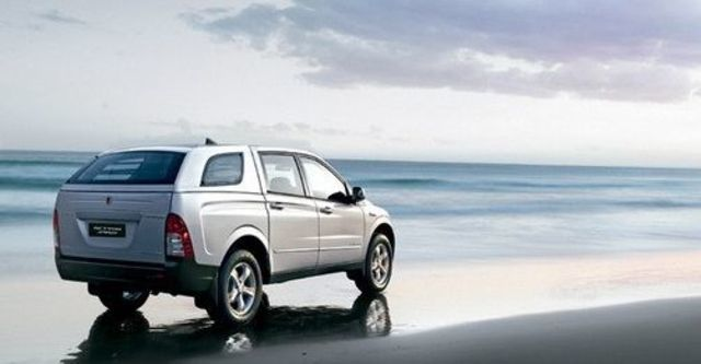 2008 Ssangyong Actyon Sports A200S 4WD  第5張相片