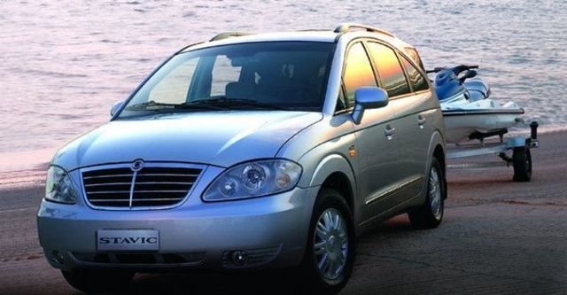2008 Ssangyong Stavic SV270 2WD  第2張相片