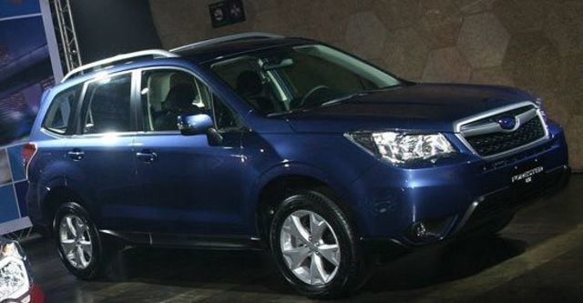 2013 Subaru Forester 2.0 i  第1張相片