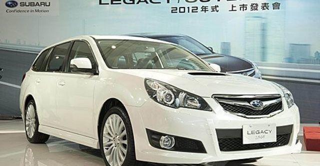2012 Subaru Legacy Wagon 2.5 GT  第4張相片