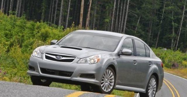 2010 Subaru Legacy Sedan 2.5GT  第1張相片