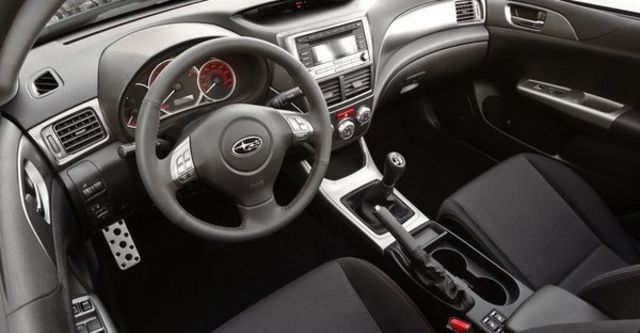 2009 Subaru Impreza WRX 4D  第5張相片
