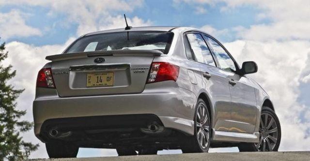 2009 Subaru Impreza WRX 4D  第12張相片