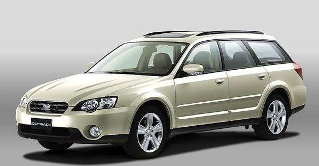 2008 Subaru Outback 3.0R  第1張相片