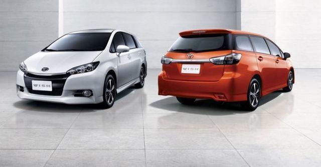 2015 Toyota Wish 2.0經典  第3張相片