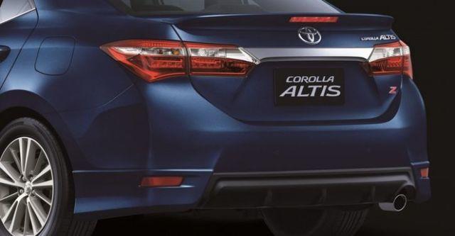 2014 Toyota Corolla Altis 1.8 Z  第4張相片