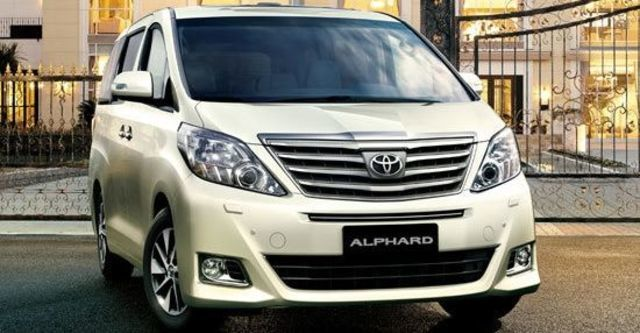 2013 Toyota Alphard 2.4  第1張相片