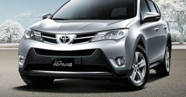 2013 Toyota RAV4 2.5 E天窗選配版  第1張相片