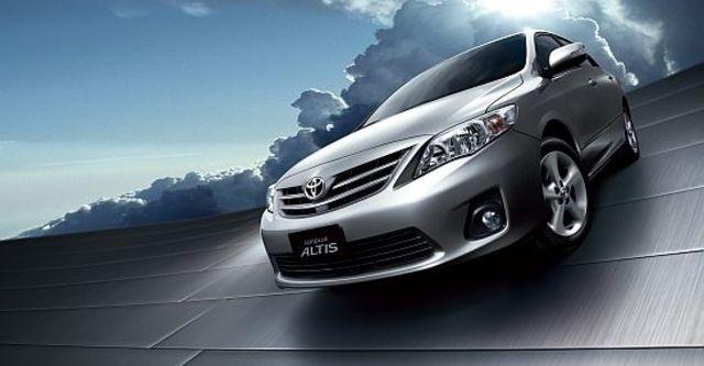 2012 Toyota Corolla Altis 1.8 E經典版  第3張相片