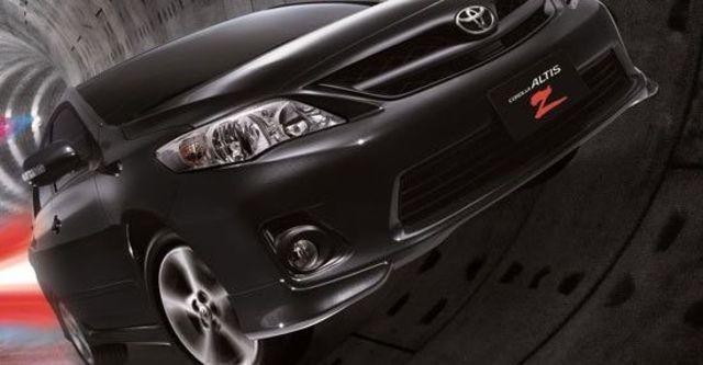 2012 Toyota Corolla Altis 1.8 Z  第1張相片