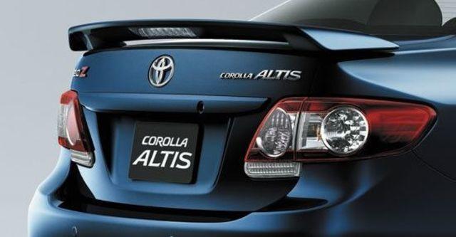 2012 Toyota Corolla Altis 1.8 Z  第3張相片