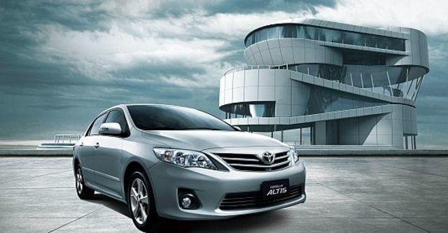 2012 Toyota Corolla Altis 2.0 G  第1張相片