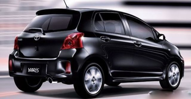 2012 Toyota Yaris 1.5 RS Fabric  第1張相片