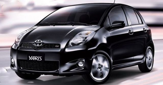 2012 Toyota Yaris 1.5 RS Fabric  第3張相片