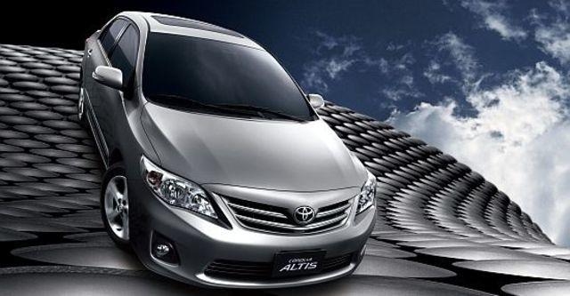 2011 Toyota Corolla Altis 1.8 E  第2張相片