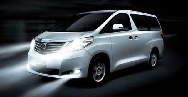 2010 Toyota Alphard 3.5  第1張相片