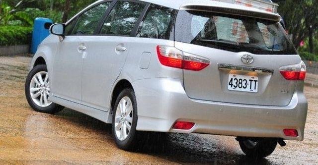 2010 Toyota Wish 2.0 G  第22張相片