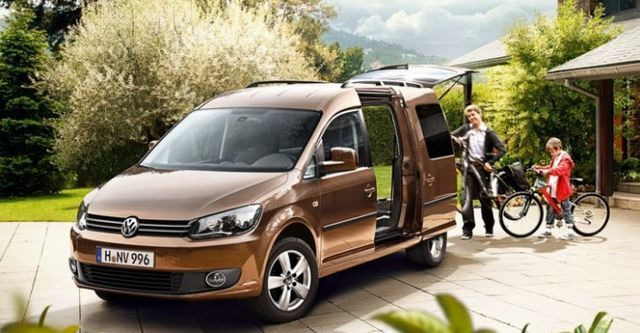 2015 Volkswagen Caddy Maxi 2.0 TDI 4Motion  第6張相片