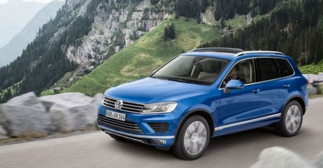 2015 Volkswagen Touareg 3.0 TDI BlueMotion R-Line  第4張相片