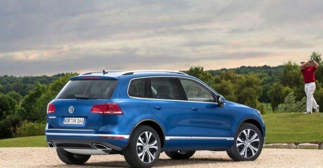 2015 Volkswagen Touareg 3.0 TDI BlueMotion R-Line  第6張相片