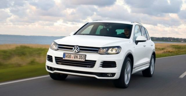 2014 Volkswagen Touareg 3.0 TDI BlueMotion R-Line  第1張相片
