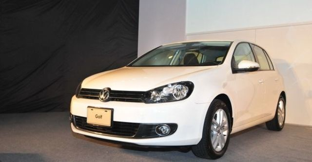 2010 Volkswagen Golf 1.6 TDI CL  第1張相片