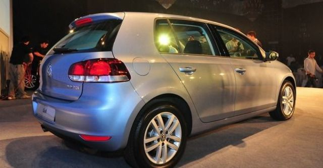2009 Volkswagen Golf 1.6 CL  第4張相片