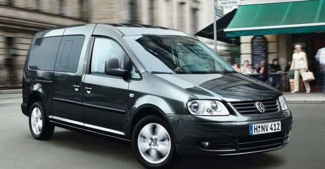 2008 Volkswagen Caddy Maxi 都會版  第1張相片