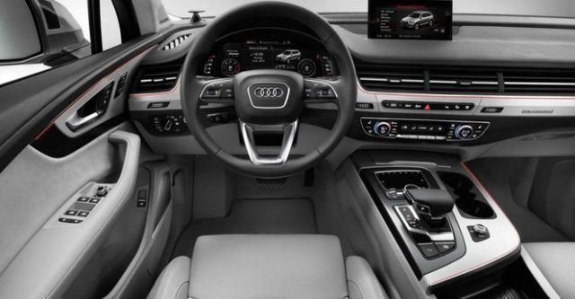 2016 Audi Q7 40 TFSI quattro七人座  第10張相片