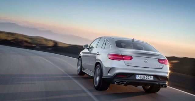 2016 M-Benz GLE Coupe AMG GLE63 4MATIC  第2張相片
