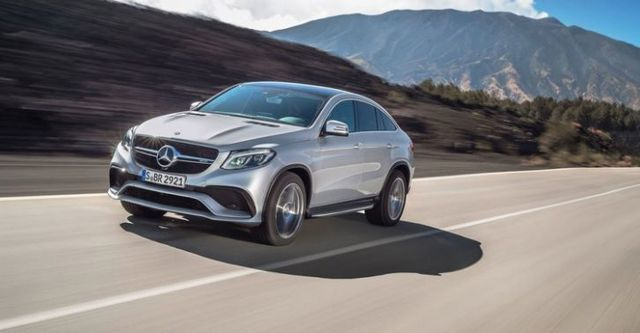 2016 M-Benz GLE Coupe AMG GLE63 4MATIC  第5張相片