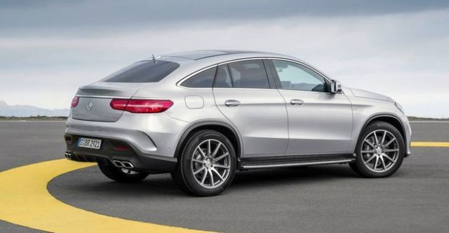 2016 M-Benz GLE Coupe AMG GLE63 4MATIC  第7張相片