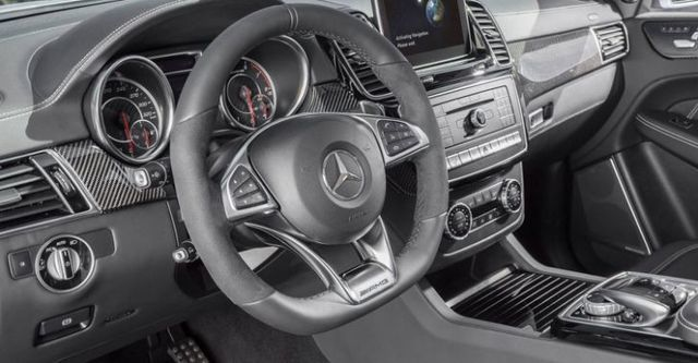 2016 M-Benz GLE Coupe AMG GLE63 4MATIC  第10張相片