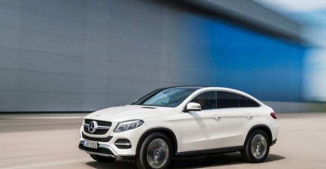 2016 M-Benz GLE Coupe GLE350d 4MATIC  第1張相片