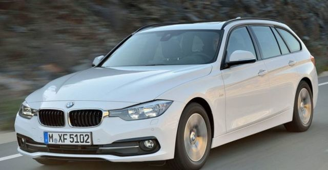 2016 BMW 3-Series Touring 320i  第1張相片
