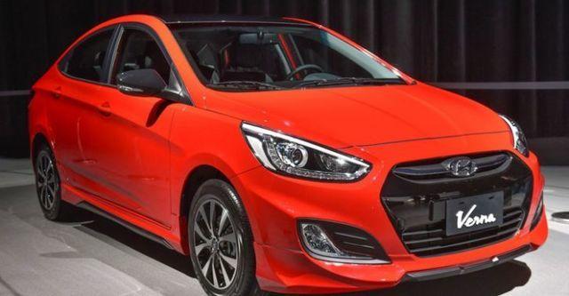 2016 Hyundai Verna 1.6旗艦型酷跑款