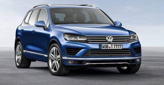 2016 Volkswagen Touareg 3.0 TDI BlueMotion  第1張相片