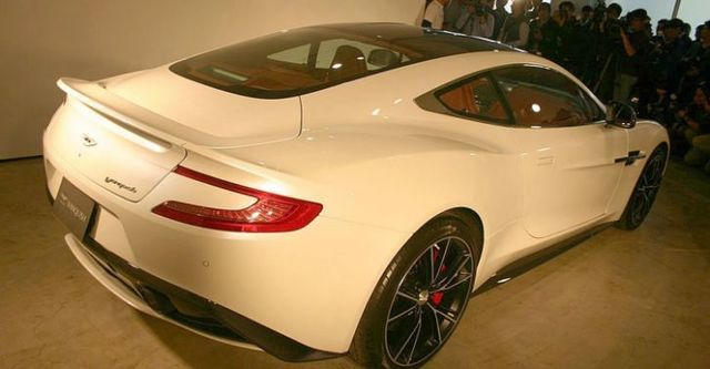 2016 Aston Martin Vanquish 6.0 V12  第4張相片