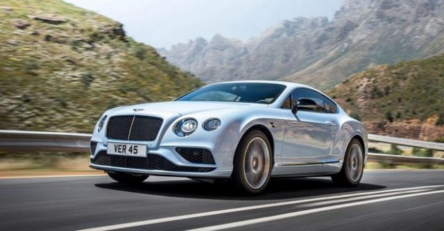 2016 Bentley Continental GT 4.0 V8 S  第1張相片