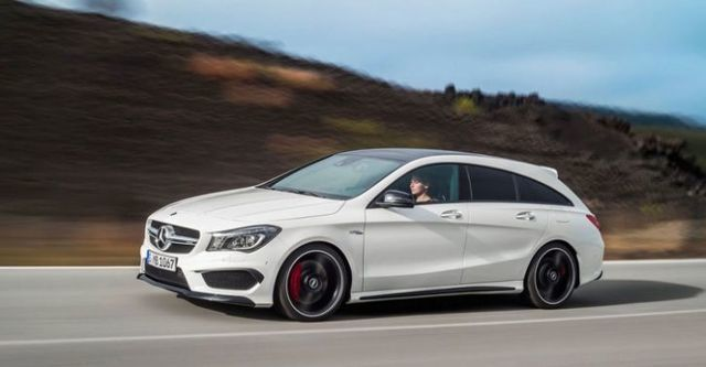 2016 M-Benz CLA Shooting Brake AMG CLA45 4MATIC  第2張相片
