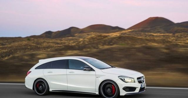 2016 M-Benz CLA Shooting Brake AMG CLA45 4MATIC  第3張相片