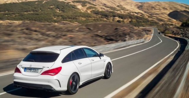 2016 M-Benz CLA Shooting Brake AMG CLA45 4MATIC  第4張相片