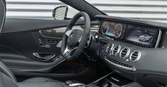 2016 M-Benz S-Class Coupe AMG S63 4MATIC  第8張相片