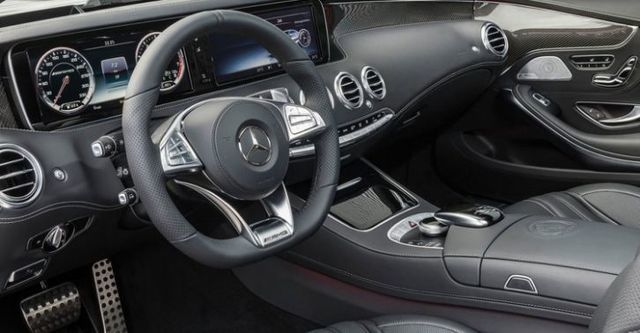2016 M-Benz S-Class Coupe AMG S63 4MATIC  第10張相片
