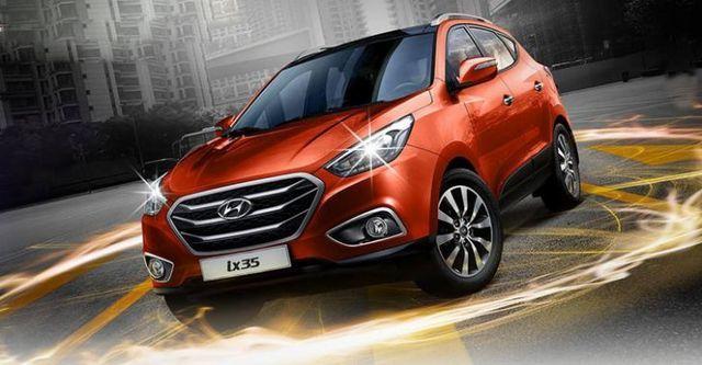 2016 Hyundai ix35 柴油2.0尊貴  第1張相片