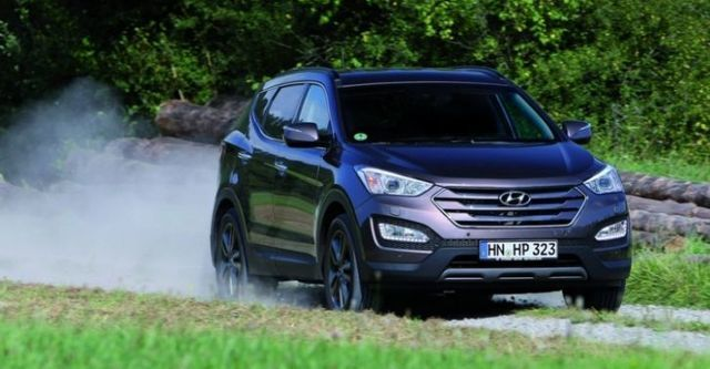 2016 Hyundai Santa Fe 2.2貴族款  第1張相片