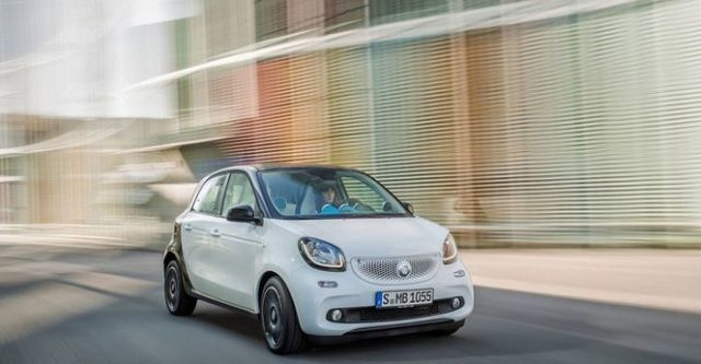 2016 Smart Forfour 66kW Pure  第4張相片