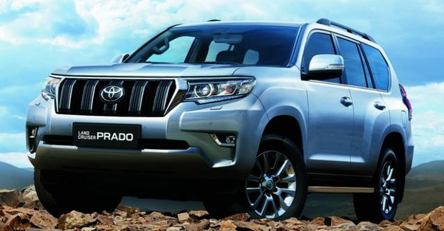 2018 Toyota Land Cruiser Prado 4.0  第1張相片